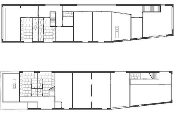 Onderzoek dienstgebouw nedtrain 2 alkmaar architoop for Plattegrond magazijn maken